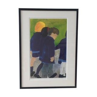 """""""School Ties VI"""" Print by Vickie Trotter"""