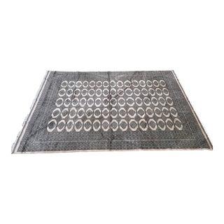 "Pakistani Bokhara Carpet - 10'5"" x 13'5"""