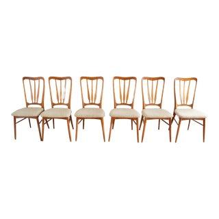 "Koefoeds Hornslet ""Ingrid"" Danish Teak Dining Chairs - Set of 6"