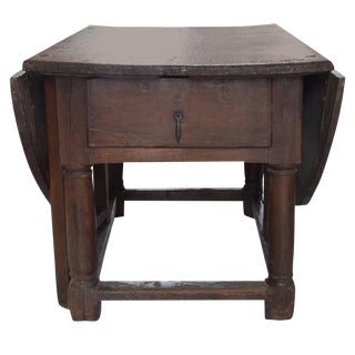 English 18th Century Drop-Leaf Table