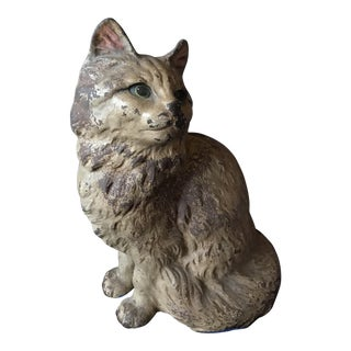 Hubley Cat Door Stop