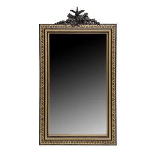 Napoleon III Period Carved & Gilt Figural Mirror