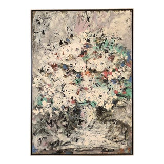 Harold Frank Untitled Abstract Oil Painting, 1964