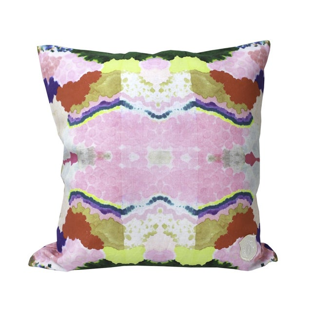 Colorful World Reversible Pillow - Image 2 of 5