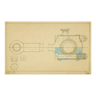 Vintage Mechanical Drawing, 1930