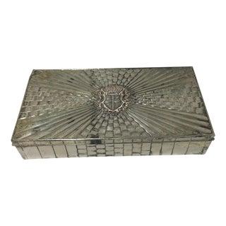 Belgian Silverplate Box