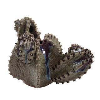 Ceramic Cactus Vase by Palecek