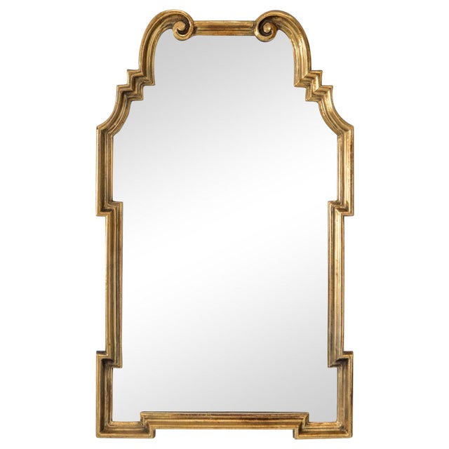 Gilded Scroll Mirror - Image 1 of 6
