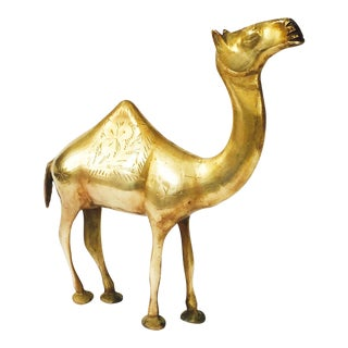 Vintage Brass Camel