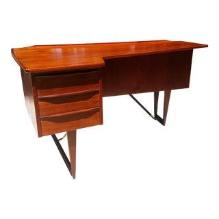 Peter Løvig Nielsen Danish Mid-Century Modern Boomerang Desk