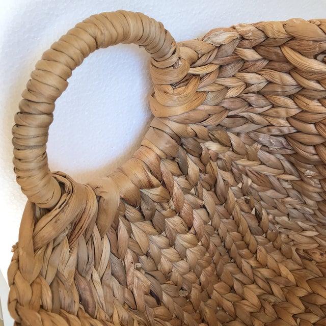 Boho Seagrass Rope Basket - Image 5 of 8