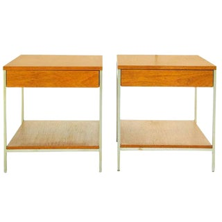 George Nelson Pair of End Tables