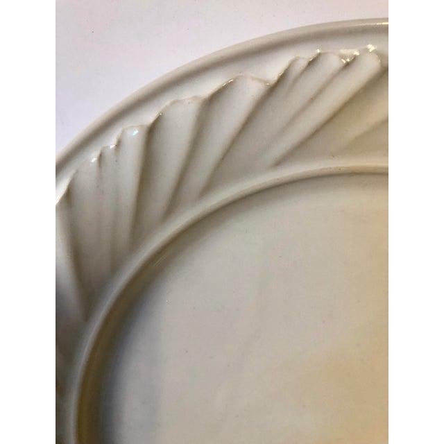 White Simon Pearce Dinner Plates - Set of 4 - Image 4 of 5