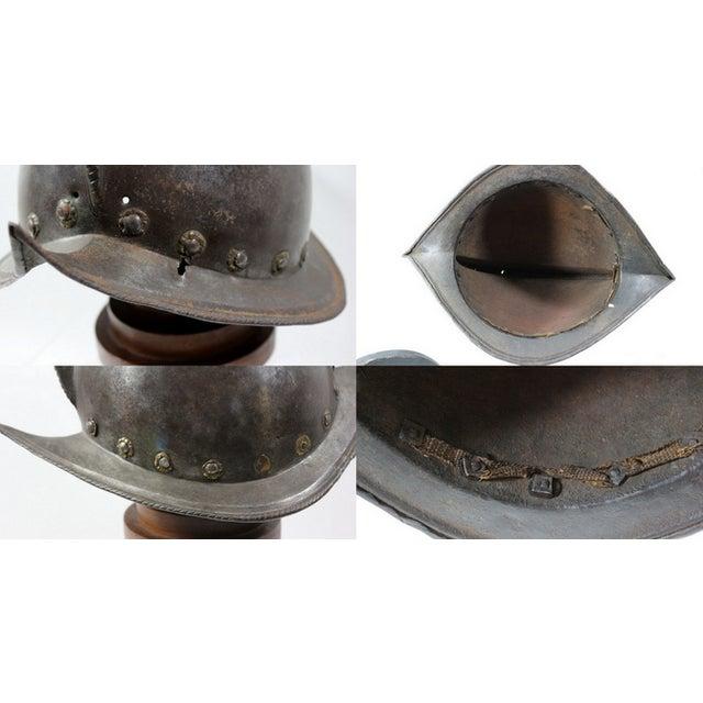 16th-C. Italian Morion Helmet - Image 6 of 6