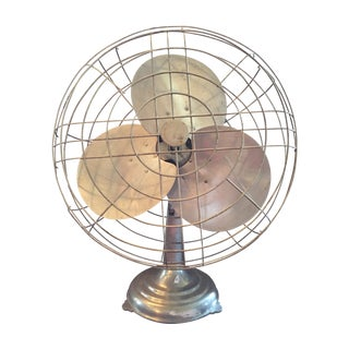 Vintage Large Metal Fan