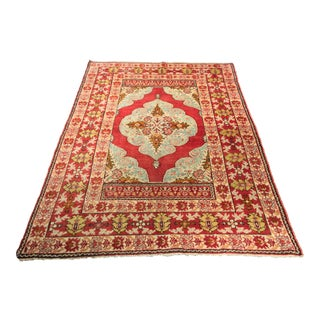 Bellwether Rugs Vintage Turkish Oushak Rug - 4'6x6'6""