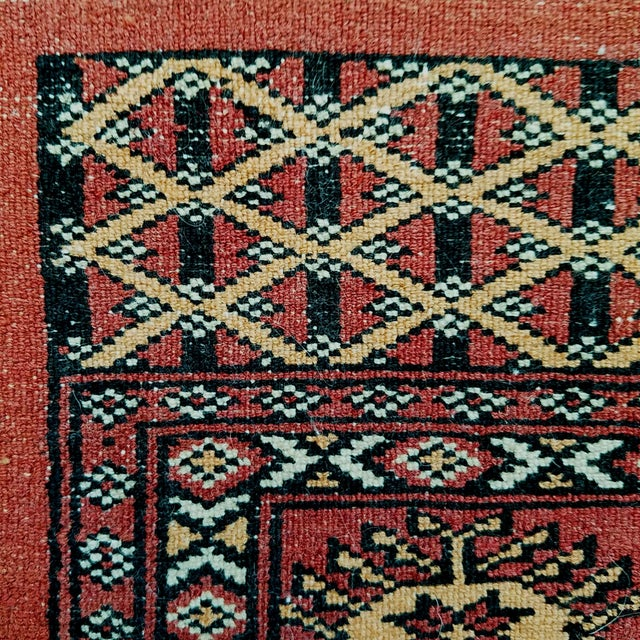 Vintage Hand Woven Persian Rug - 3′ × 5′7″ - Image 7 of 7