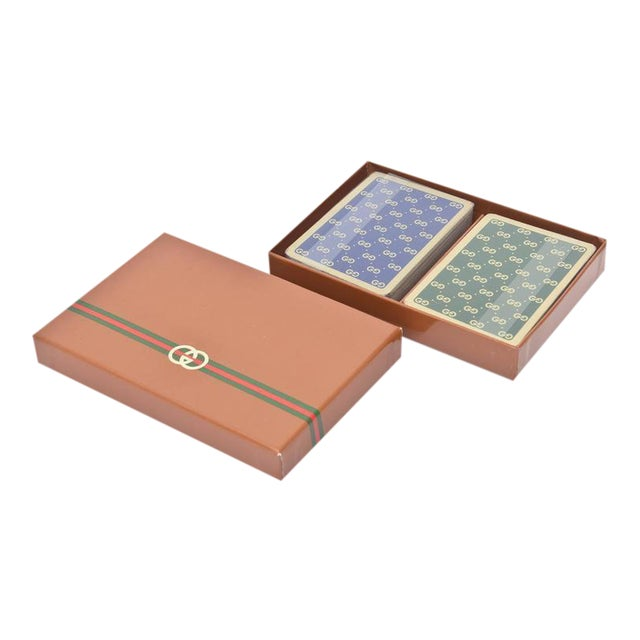 Set of Iconic Vintage Gucci Playing Cards - Image 1 of 10