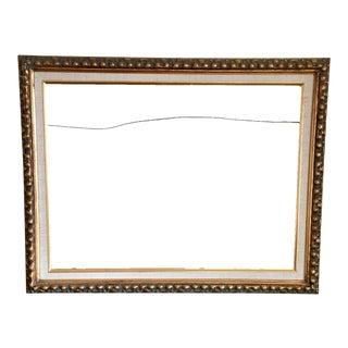 Vintage Gold Knobby Frame