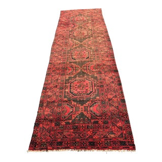 "Vintage Persian Lilihan Runner - 2'10""x10'6"""