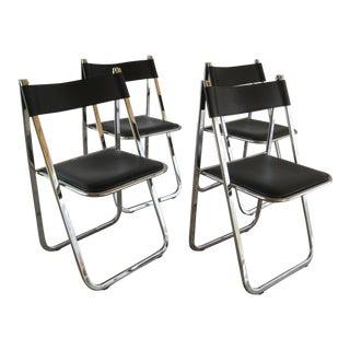 Arrben Tamara Italian Folding Chairs - Set of 4