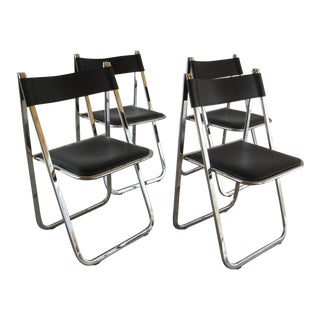 Arrben Tamara Italian Folding Chairs - Set of 4