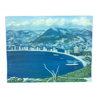 Honeymoon in Alcupulco Bay Vintage Painting