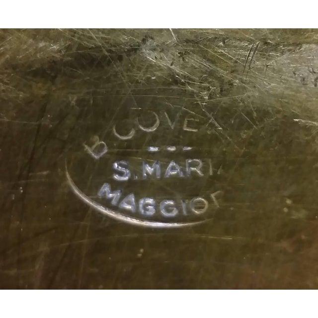 Vintage Square Brass Platter - Image 5 of 7