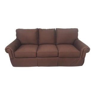 Henredon Furniture Custom Upholstery Fireside Sofa