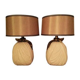 E.F. Chapman Drape Lamps - Pair