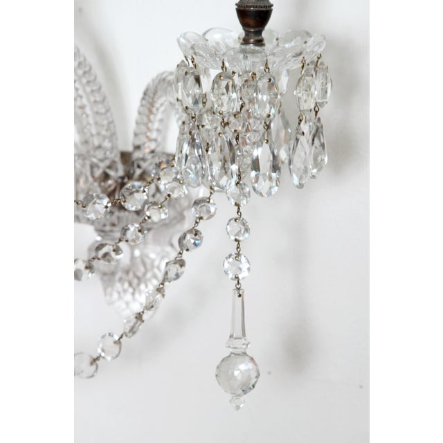 Two Pair of Exceptional F. & C. Osler Crystal Sconces - Image 6 of 11