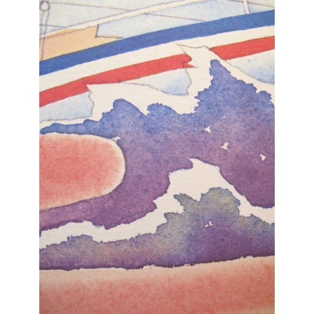 1981 French Defense America's Cup Poster - Image 2 of 2
