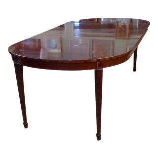 Oxford Kindel Mahogany Wood Dining Table