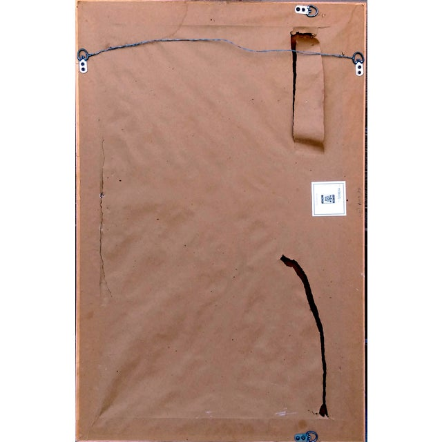 "Ballard Designs ""Acanthus"" Chalkboard - Image 4 of 4"