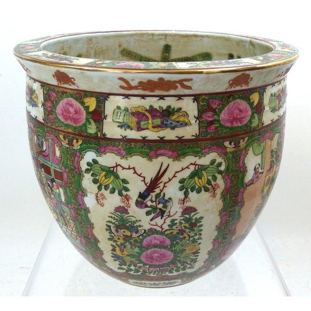 Vintage Asian Goldfish Bowl - Image 2 of 9