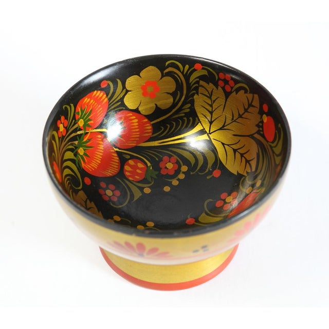 Russian Footed Strawberry Bowl - Image 2 of 6