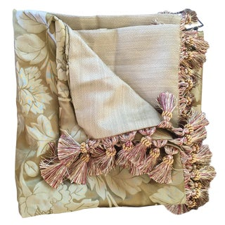 Satin and Sage Luxury Throw Blanket