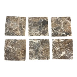 Natural Stone Coasters- Set of 6