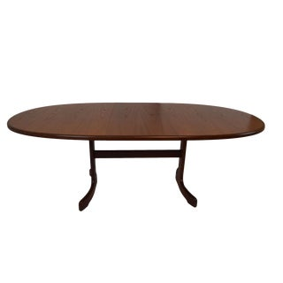 G Plan Mid-Century Modern Extending Teak Dining Table