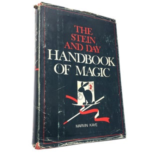 "1973 ""The Stein & Day Handbook of Magic"" Book"