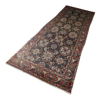Circa 1880s Persian Antique Rug - 3′4″ × 10′3″