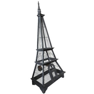 Eiffel Tower Bird Cage