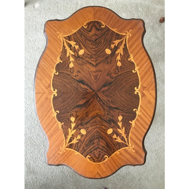 Image of Louis XV Marquetry Inlaid Tables - a Pair