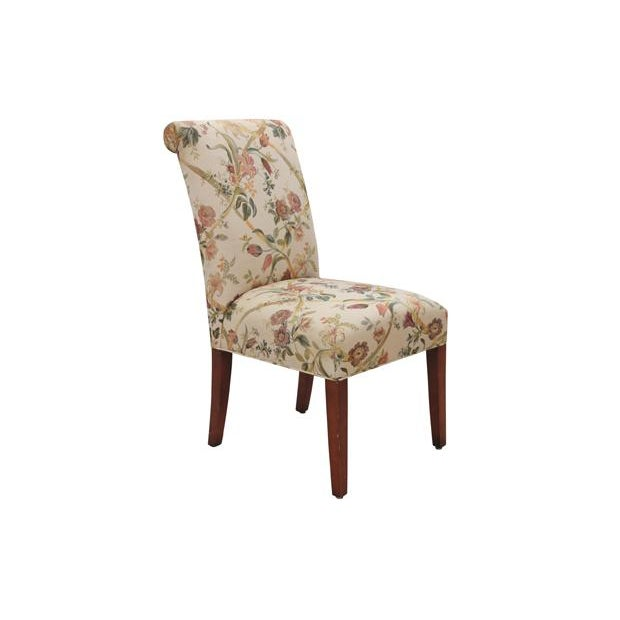 Floral Dining Chairs, S/6 - Image 2 of 6