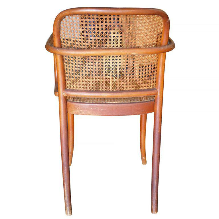 Josef Hoffmann No 811 Bentwood Cane Chair By Thonet, Set Of Four   Image 6