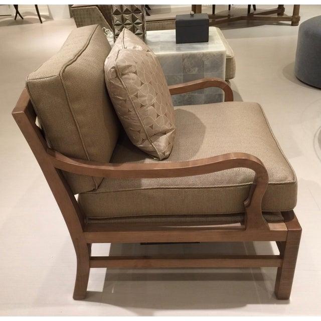 Baker Laura Kirar Muji Floor Sample Lounge Chair Chairish
