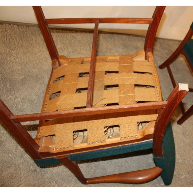 Kaare Klint Style Teak Armchairs - A Pair - Image 5 of 5
