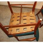 Image of Kaare Klint Style Teak Armchairs - A Pair