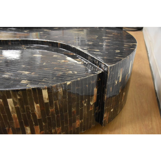 Tessellated Horn Coffee Table - Image 5 of 9