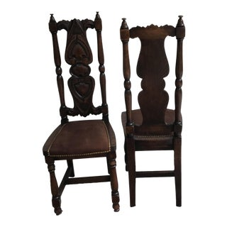 Antique Spanish Chairs - A Pair